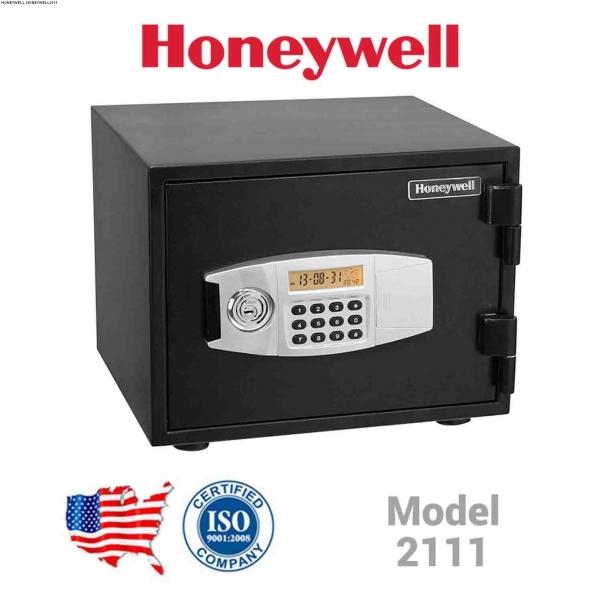 Két sắt mini honeywell 2111 Mỹ  điện tử chống cháy