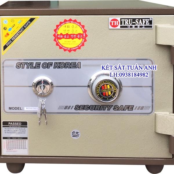 két sắt nhỏ chống cháy trusafe HQ38 KC